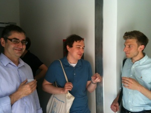 Stéphane, Tom, Pascal