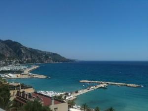 view vers l'Italie